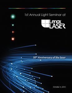 1st Annual Light Seminar - Front Cover